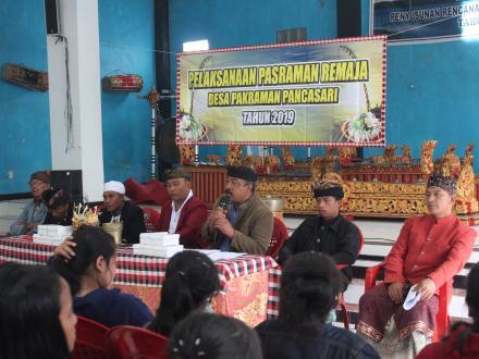 Tak Sebatas Ilmu Pengetahuan, Desa Pancasari Gelar Pasraman Remaja Untuk Melatih Disiplin Spiritual