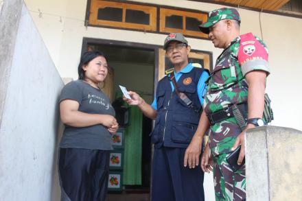 Tim Gabungan Desa Pancasari Bersama Disdukcapil Kabupaten Buleleng Gelar Sidak Penduduk Pendatang