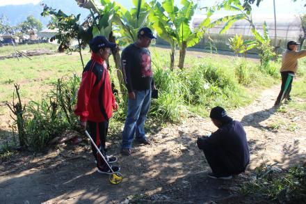 Survey Lapangan Tim Verifikasi Penyusunan RKPDesa Desa Pancasari Tahun Anggaran 2020
