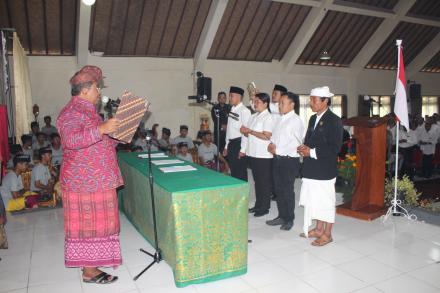 Pelantikan Dan Pengambilan Sumpah Janji Anggota Badan Permusyawaratan Desa Se-Kecamatan Sukasada