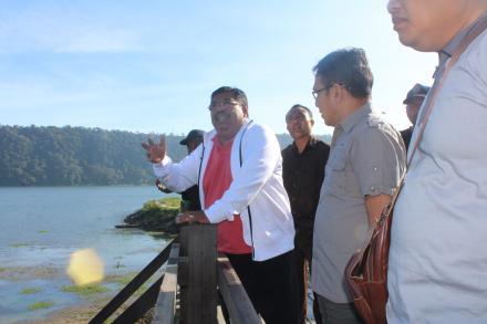 Kunjungan Bupati Buleleng Bersama BKSDA Provinsi Bali Terkait Rencana Penataan Kawasan Danau Buyan