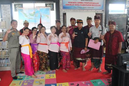 Lomba Perpustakaan Desa, BUMADE Menjalin Kerjasama Dengan Desa Pancasari